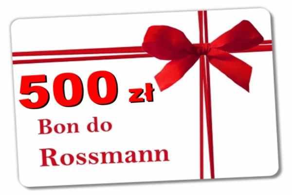 Promocja Rossmann Polanów  bon 500 zł