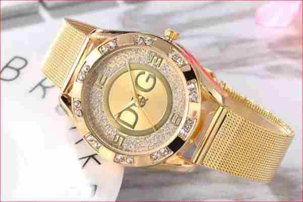 Złoty zegarek Damski Przedbórz  za 9 zł Kup teraz