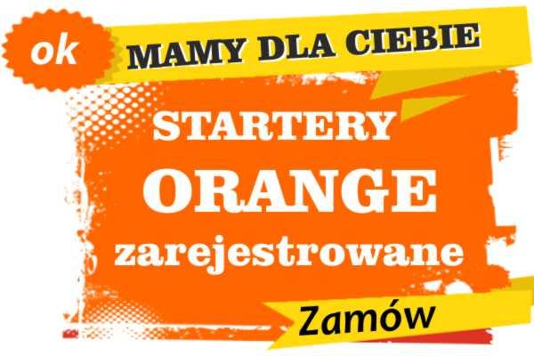 Sprzedam zarejestrowane karty sim orange Stary Sącz  zadzwoń 887 332 665