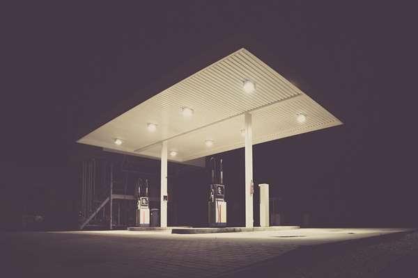 Stacji paliw Ustroń